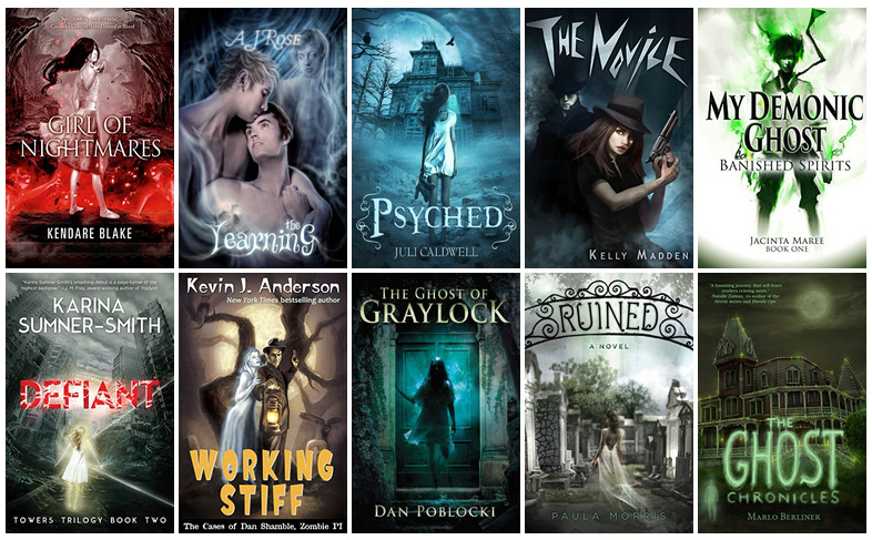 Book Covers featuring Ghosts | reading, books, book covers, cover love, ghosts