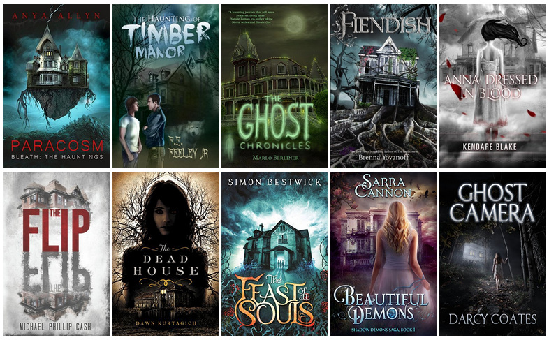 Book Covers featuring Haunted Houses   reading, books, book covers, cover love, haunted houses