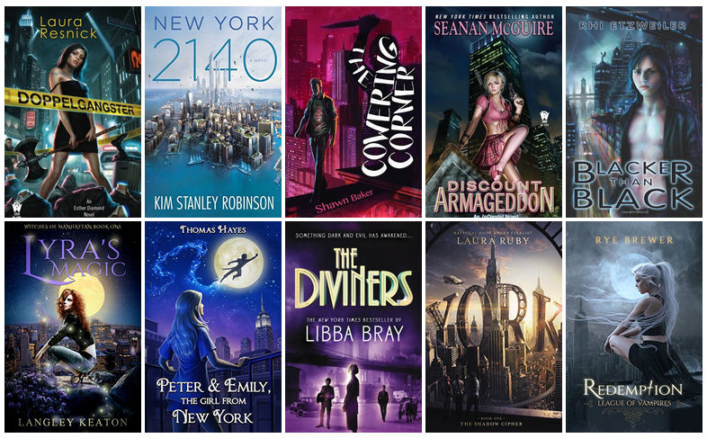 Book Covers featuring New York City   reading, books, book covers, cover love, new york city