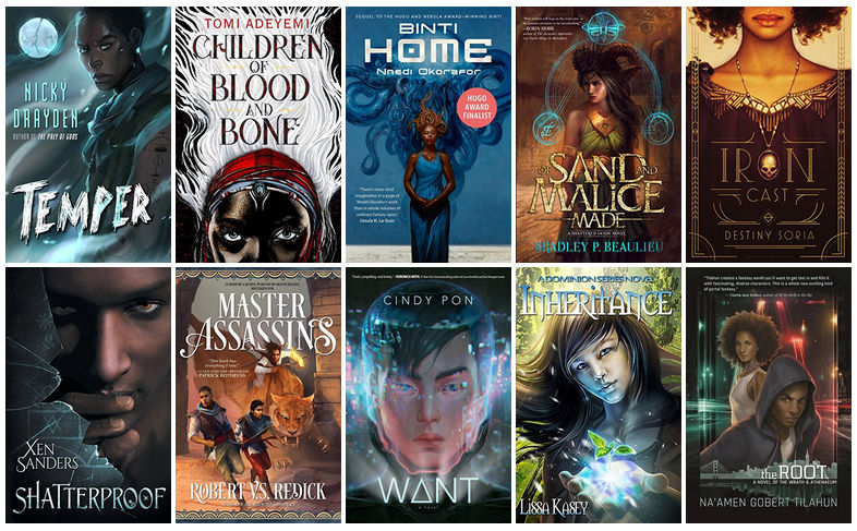 Book Covers featuring POC Characters | reading, books, book covers, cover love, POC