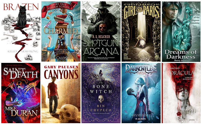 Book Covers featuring Skulls (2) | reading, books, book covers, cover love, skulls