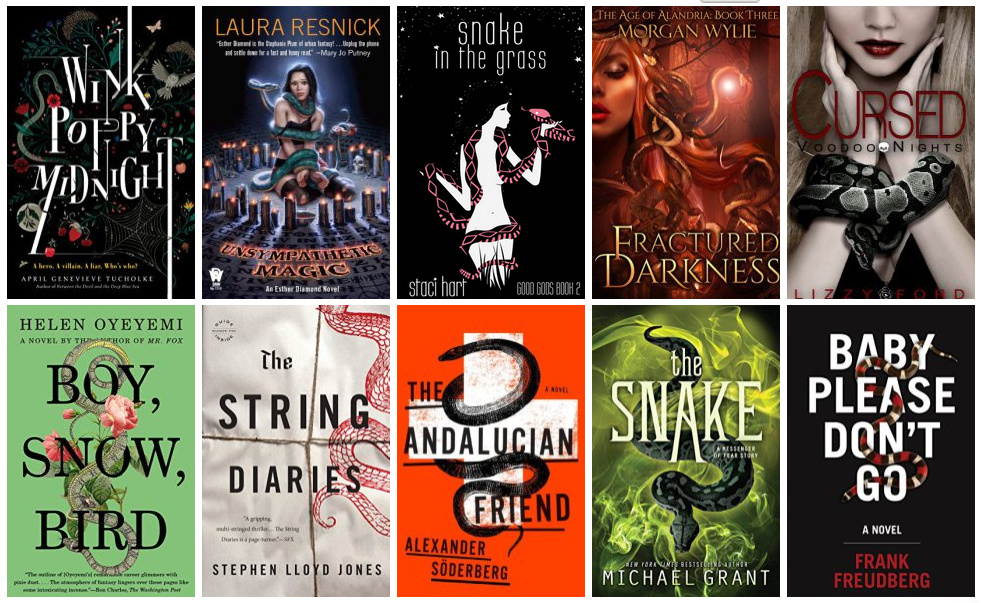 Book Covers featuring Snakes | books, reading, book covers, cover love, snakes