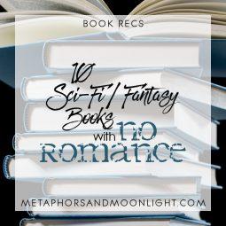 Book Recs: 10 Sci-Fi/Fantasy Books with No Romance