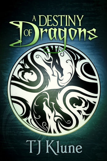 Book Review: A Destiny of Dragons (Tales from Verania Book 2) by TJ Klune   reading, books, book reviews, fantasy, high fantasy, lgbt, m/m, dragons