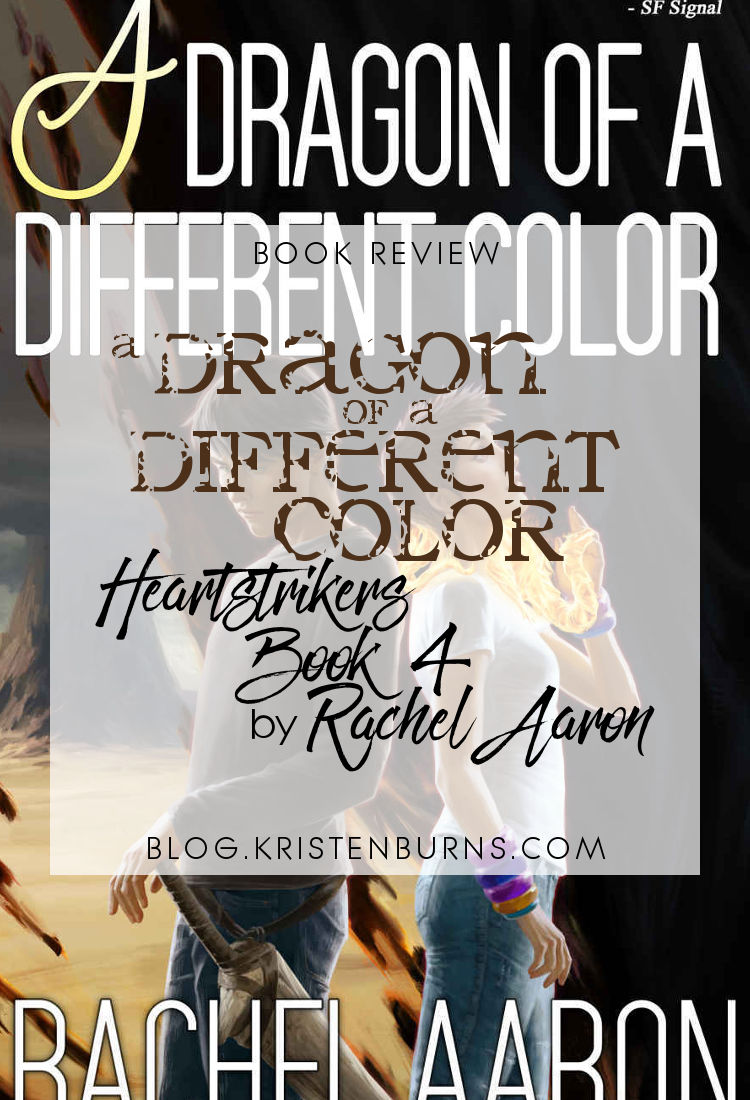 Book Review: A Dragon of a Different Color (Heartstrikers Book 4) by Rachel Aaron   reading, books, book reviews, urban fantasy