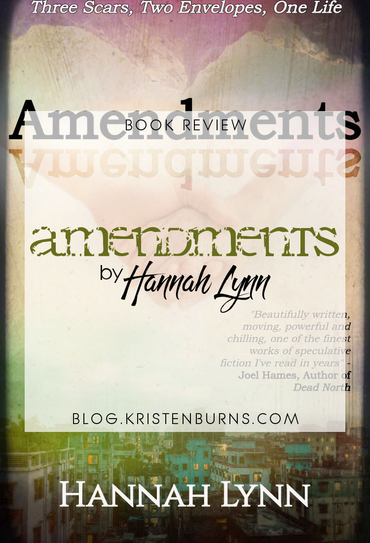 Book Review: Amendments by Hannah Lynn | reading, books, book reviews, science fiction, time travel, dystopian