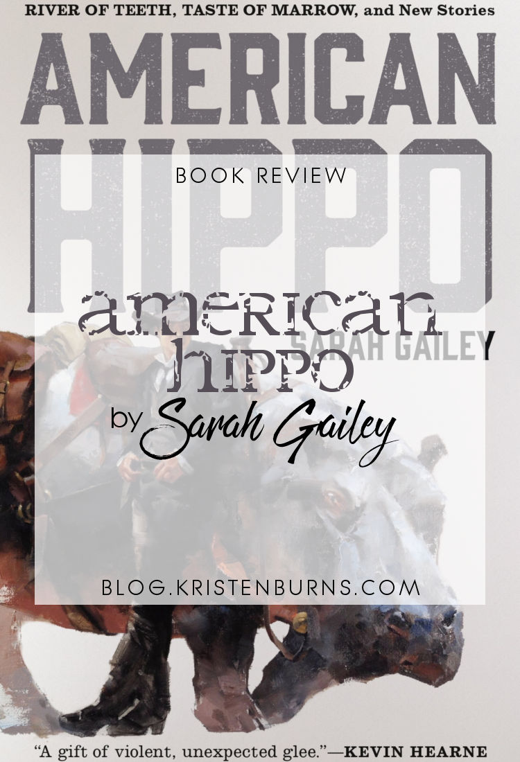 Book Review: American Hippo by Sarah Gailey | reading, books, book reviews, alternate history, western, lgbt+