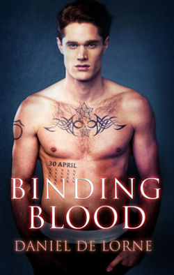 Book Review: Binding Blood (Bonds of Blood Book 3) by Daniel de Lorne | reading, books, book reviews, paranormal/urban fantasy, lgbt+, vampires, witches, m/m
