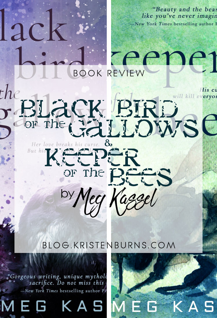 Book Review: Black Bird of the Gallows & Keeper of the Bees by Meg Kassel | reading, books, book reviews, paranormal romance, young adult