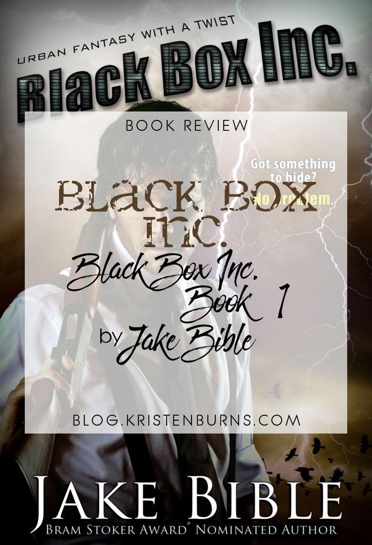 Book Review: Black Box Inc. (Black Box Inc. Book 1) by Jake Bible | reading, books, book reviews, fantasy, paranormal/urban fantasy