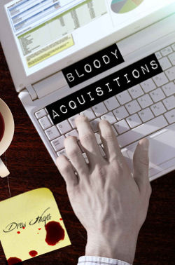 Book Review: Bloody Acquisitions (Fred, The Vampire Accountant Book 3) by Drew Hayes | reading, books, book reviews, urban fantasy, vampires