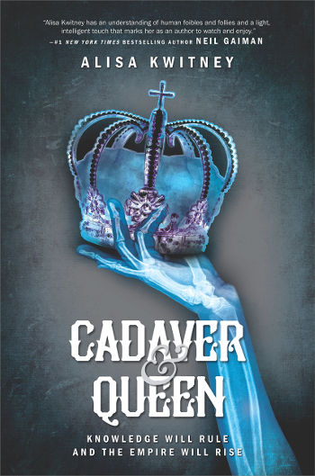 Book Review: Cadaver & Queen by Alisa Kwitney | reading, books, book reviews, science fiction, Frankenstein retelling, young adult