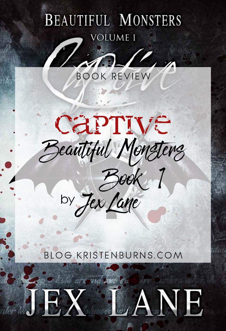 Book Review: Captive (Beautiful Monsters Book 1) by Jex Lane   reading, books, book reviews, fantasy, urban fantasy, lgbt, m/m, vampires, incubi