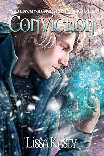 Book Review: Conviction (Dominion Book 3) by Lissa Kasey | reading, books, book reviews, fantasy, paranormal/urban fantasy, lgbt, m/m, witches, shifters, mental illness, eating disorders, disability, asthma