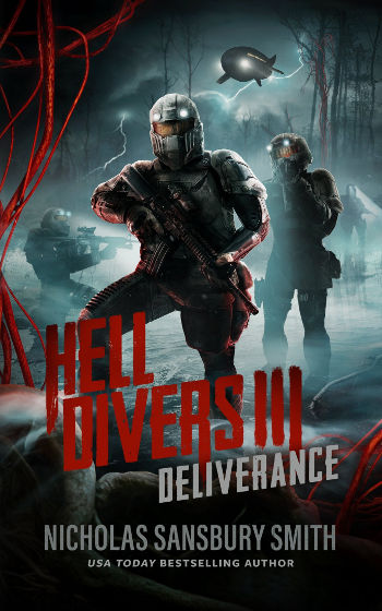 Book Review: Deliverance (Hell Divers Book 3) by Nicholas Sansbury Smith   reading, books, book reviews, science fiction, post-apocalytpic