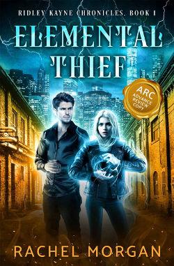 Book Review: Elemental Thief (Ridley Kayne Chronicles Book 1) by Rachel Morgan | reading, books, book reviews, urban fantasy