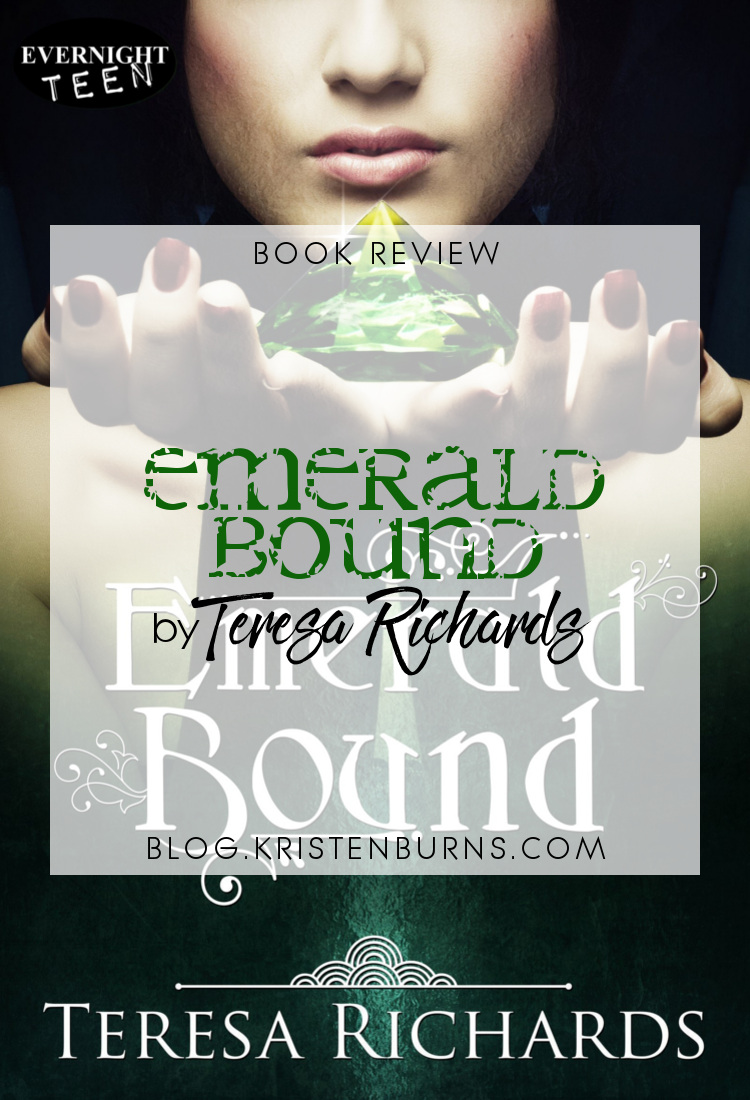 Book Review: Emerald Bound by Teresa Richards   reading, books, book reviews, fantasy, young adult, retelling, the princess and the pea