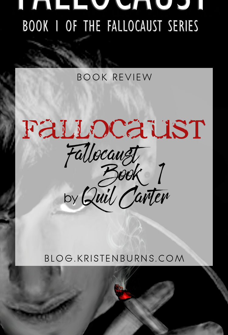 Book Review: Fallocaust (Fallocaust Book 1) by Quil Carter   reading, books, book reviews, science fiction, dystopian, lgbt, m/m