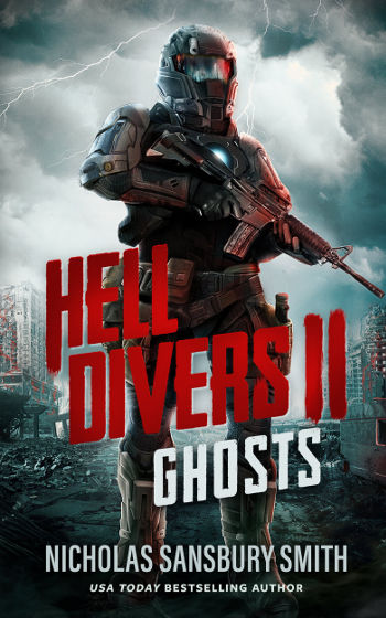 Book Review: Ghosts (Hell Divers Book 2) by Nicholas Sansbury Smith | reading, books, book reviews, science fiction, post-apocalyptic