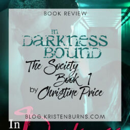 Book Review: In Darkness Bound (The Society Book 1) by Christine Price [+ Audiobook]