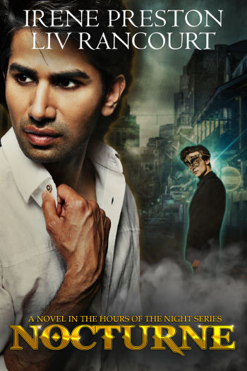 Book Review: Nocturne (Hours of the Night Book 2) by Irene Preston & Liv Rancourt | reading, books, book reviews, fantasy, paranormal/urban fantasy, paranormal romance, lgbt, vampires, demons