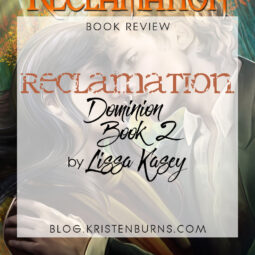 Book Review: Reclamation (Dominion Book 2) by Lissa Kasey