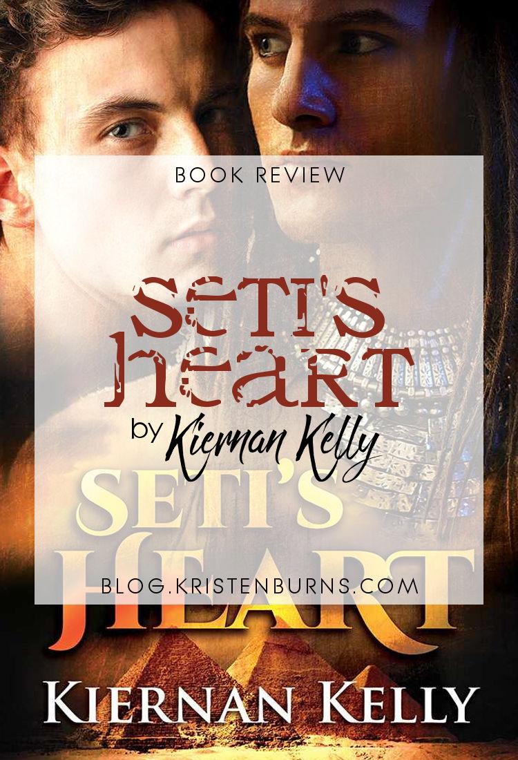 Book Review: Seti's Heart by Kiernan Kelly | reading, books, book reviews, fantasy, paranormal/urban fantasy, lgbtqia