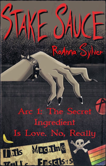 Book Review: Stake Sauce (Stake Sauce Book 1) by RoAnna Sylver   reading, books, lgbt+, paranormal/urban fantasy, vampires, disability