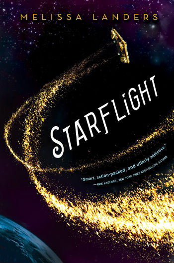 Book Review: Starflight (Starflight Book 1) by Melissa Landers | reading, books, book reviews, science ficiton, sci-fi romance, space opera, young adult