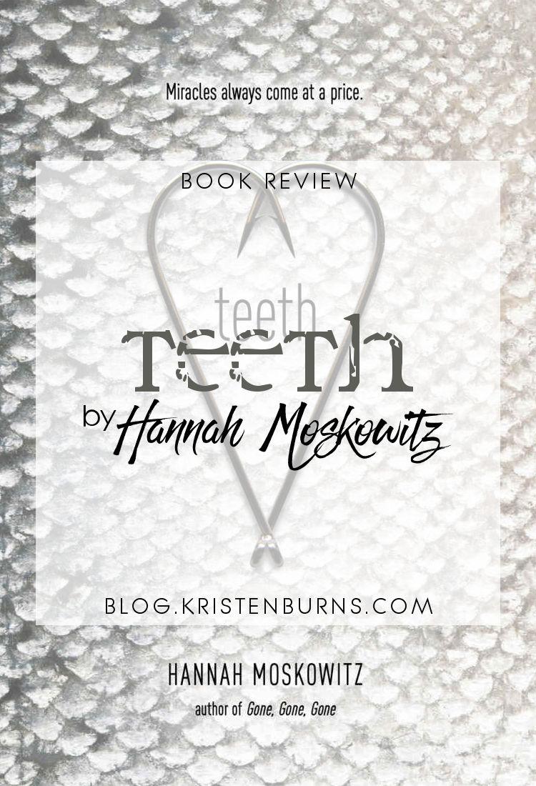 Book Review: Teeth by Hannah Moskowitz | reading, books, book reviews, paranormal/urban fantasy, lgbt+, mermen