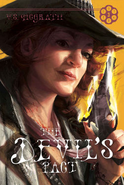 Book Review: The Devil's Pact (The Devil's Revolver Book 3) by V.S. McGrath   reading, books, book reviews, western, weird west, historical fantasy