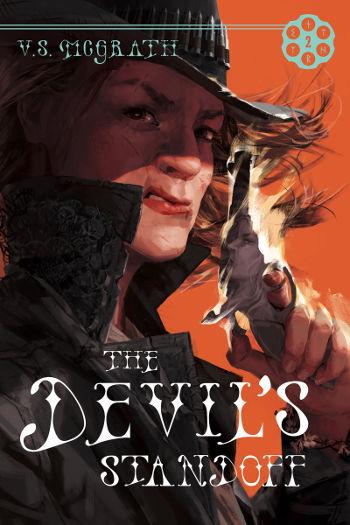 Book Review: The Devil's Standoff (The Devil's Revolver Book 2) by V.S. McGrath | reading, books, book reviews, fantasy, paranormal/urban fantasy, western