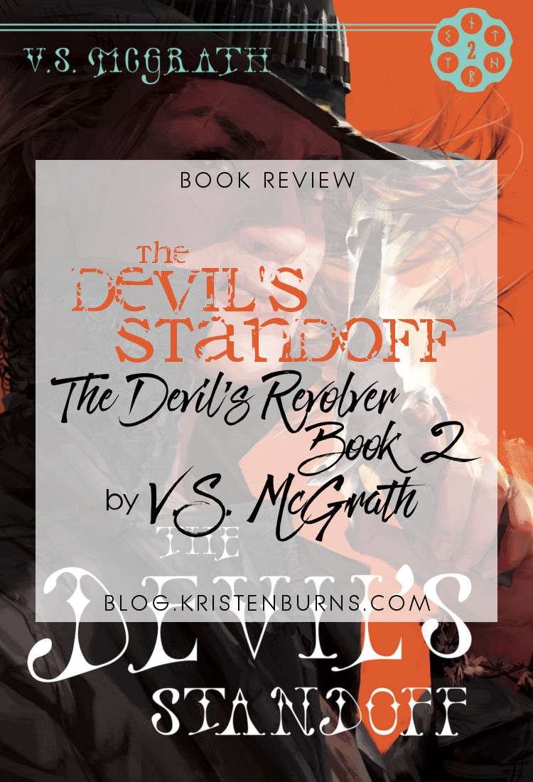 Book Review: The Devil's Standoff (The Devil's Revolver Book 2) by V.S. McGrath | reading, books, book reviews, fantasy, paranormal/urban fantasy, western