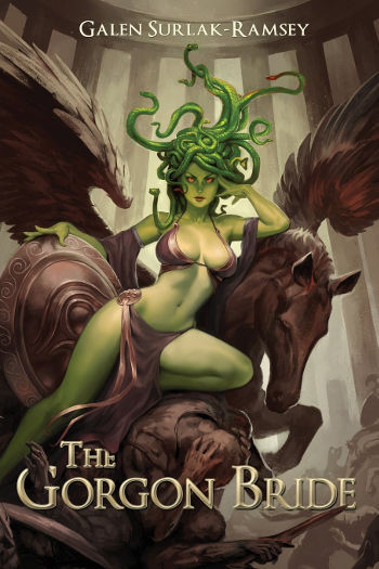Book Review: The Gorgon Bride by Galen Surlak-Ramsey | reading, books, book reviews, greek gods