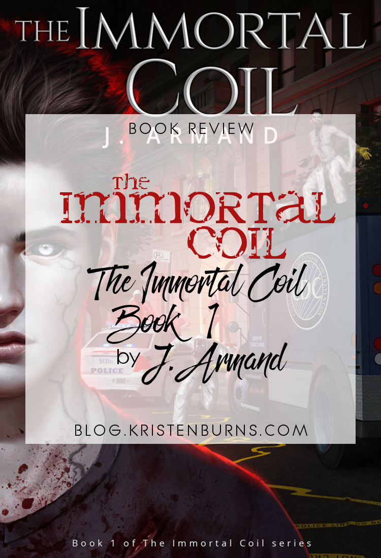 Book Review: The Immortal Coil (The Immortal Coil Book 1) by J. Armand | reading, books, book reviews, fantasy, urban fantasy, lgbt, telekinesis, vampires