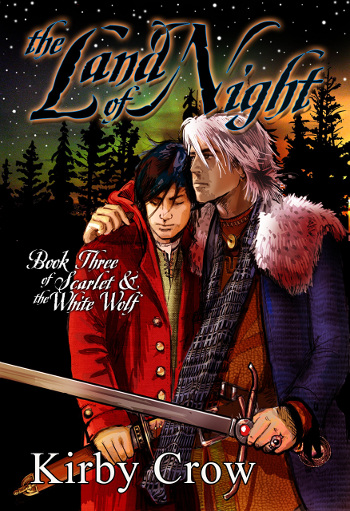 Book Review: The Land of Night (Scarlet & the White Wolf Book 3) by Kirby Crow | reading, books, book reviews, fantasy, high fantasy, lgbt