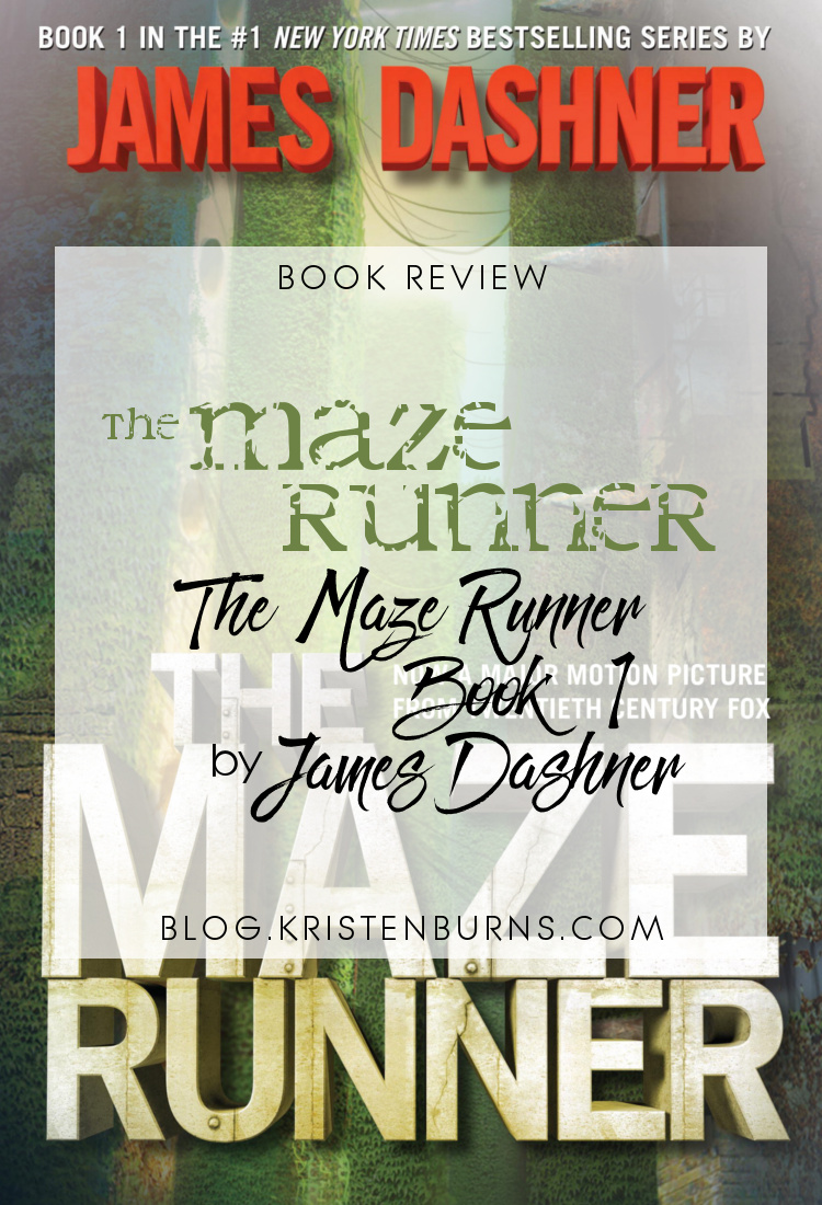 3 Star Book Review: The Maze Runner (The Maze Runner Book 1) by James Dashner | books, book reviews, sci-fi, dystopian, YA