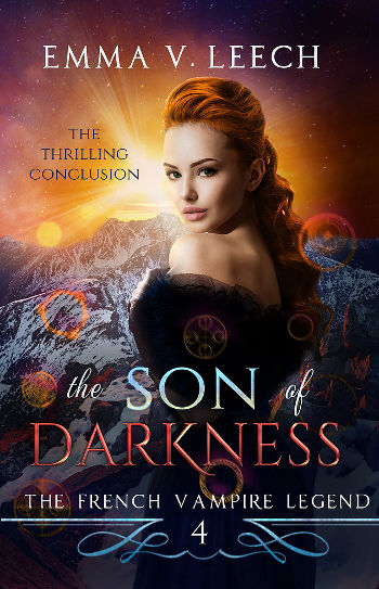 Book Review - The Son of Darkness (The French Vampire Legend Book 4) by Emma V. Leech-Book Cover