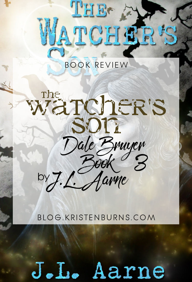 Book Review: The Watcher's Son (Dale Bruyer Book 3) by J.L. Aarne | reading, books, book reviews, fantasy, paranormal/urban fantasy, lgbtqia, m/m