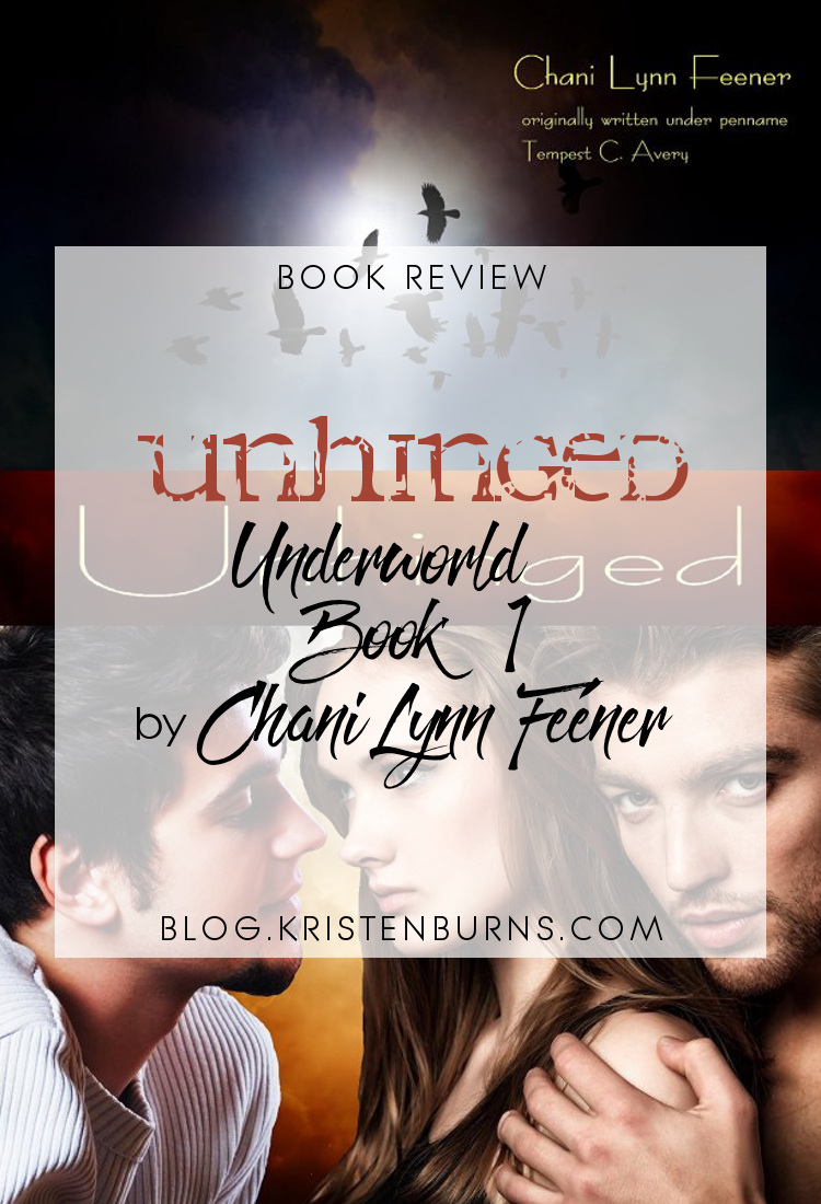 Book Review: Unhinged (Underworld Book 1) by Chani Lynn Feener | reading, books, book reviews, fantasy, urban fantasy, paranormal romance, young adult, mythology, hades and persephone retelling, ghosts, gods