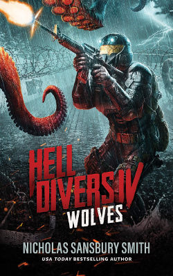 Book Review: Wolves (Hell Divers Book 4) by Nicholas Sansbury Smith | reading, books, science fiction, post-apocalyptic