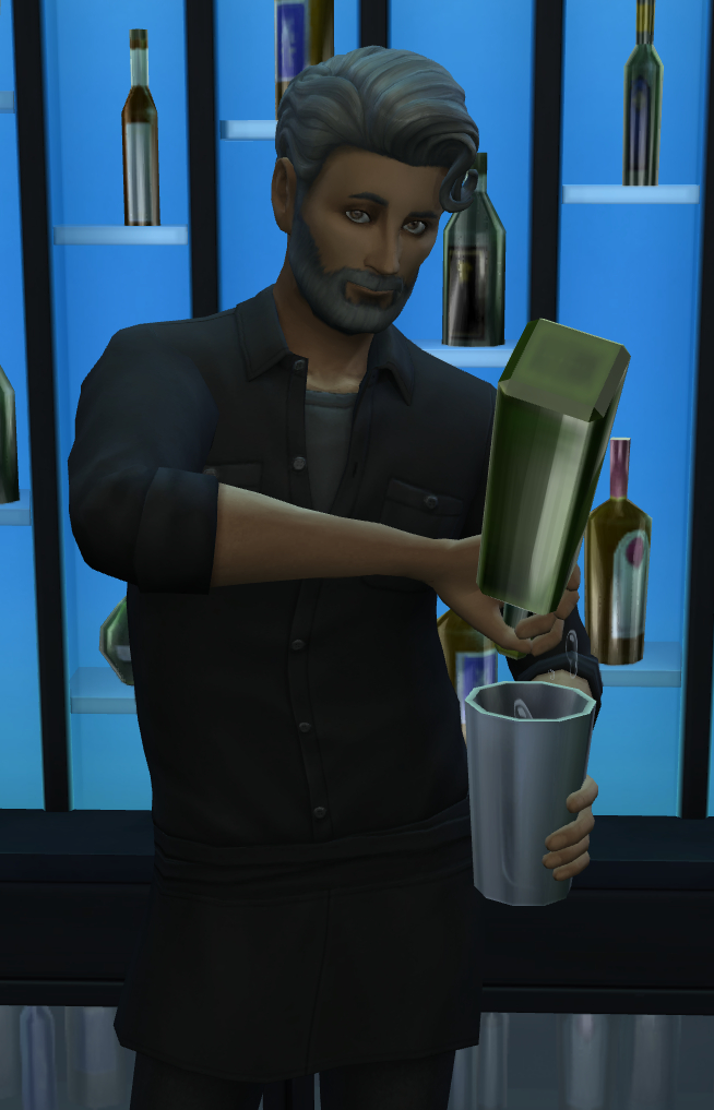Byron Bartending Sexily