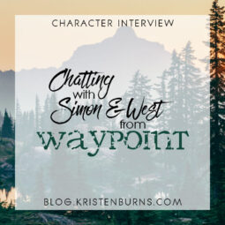 Character Interview + Giveaway: Chatting with Simon & West from Waypoint + Win a Signed Hardcover!