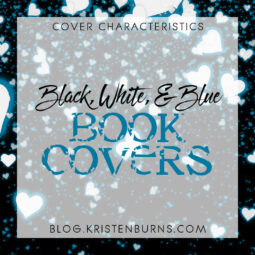 Cover Characteristics: Black, White, & Blue Book Covers