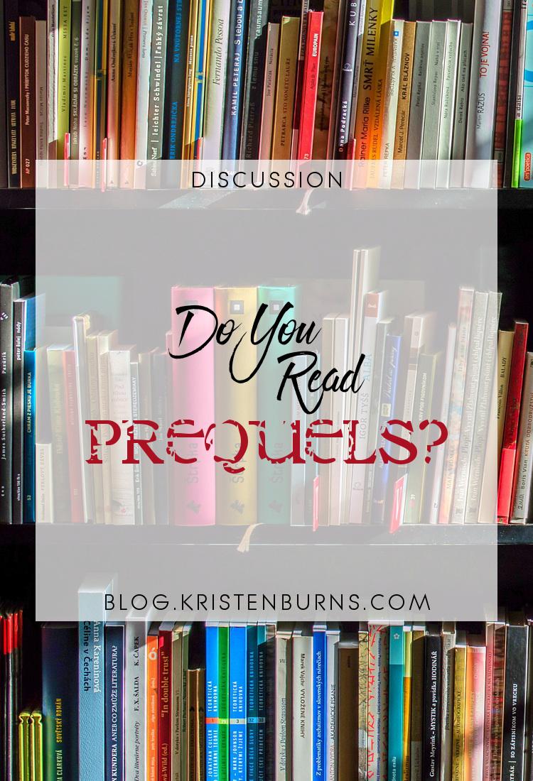 Discussion: Do You Read Prequels?   books, reading, discussions, prequels