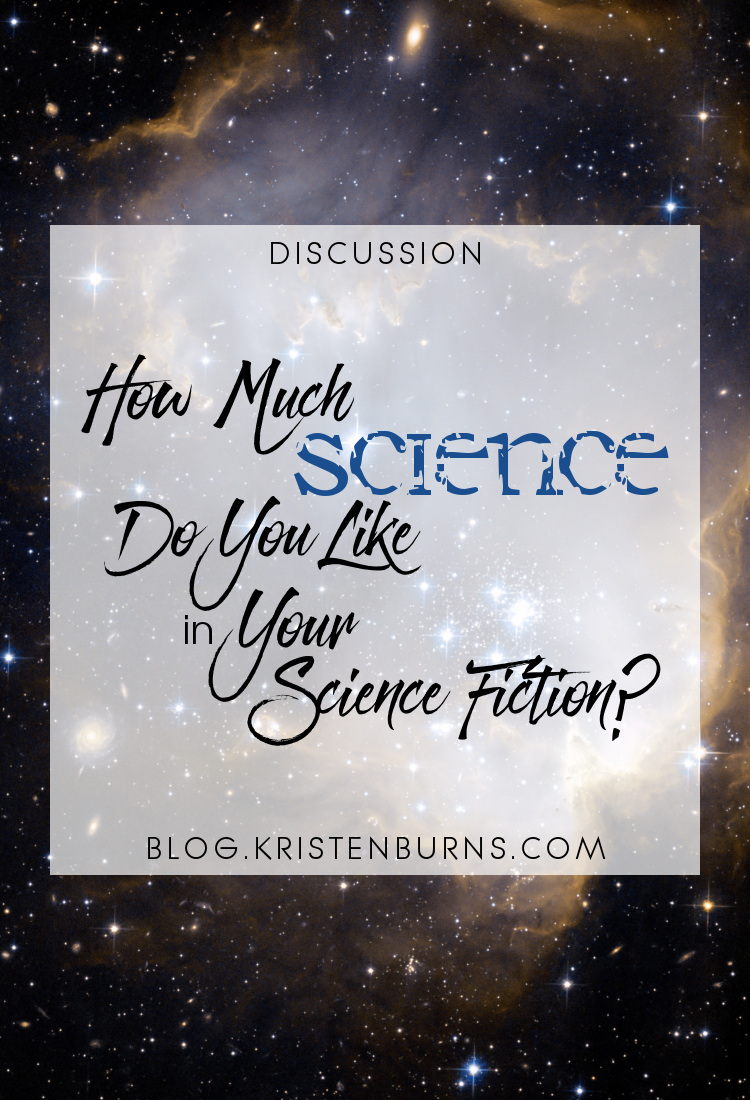 Discussion: How Much Science Do You Like in Your Science Fiction? | books, reading, discussions, science fiction, sci-fi