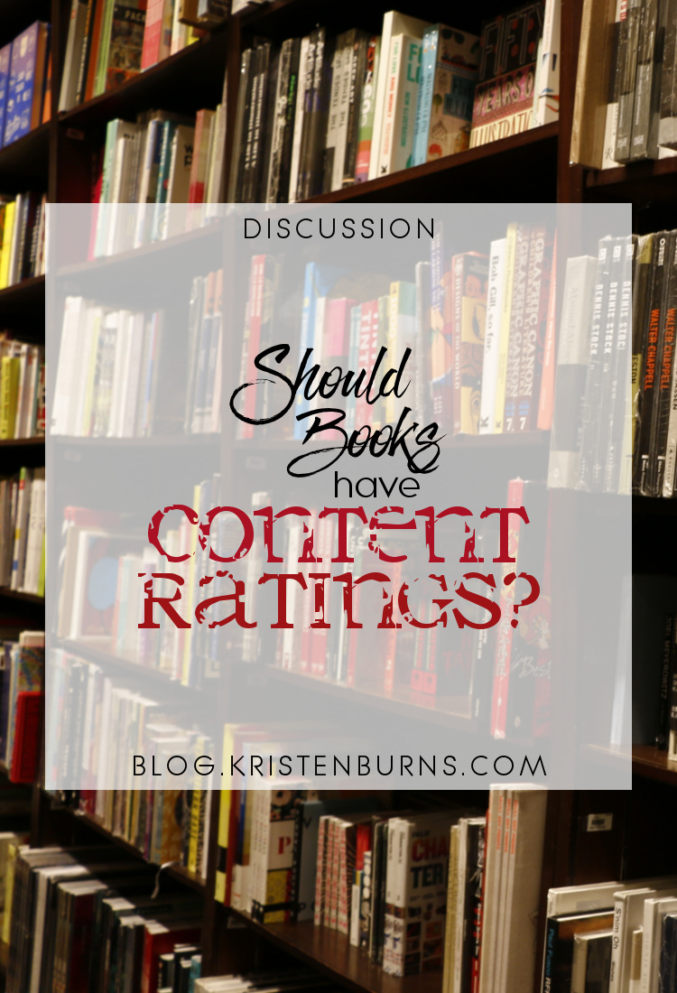 Discussion: Should Books Have Content Ratings? | reading, books, discussions, censorship