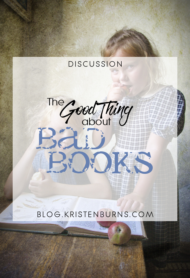 Discussion: The Good Thing about Bad Books | books, reading, discussions