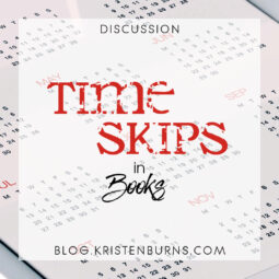 Bookish Musings: Time Skips in Books
