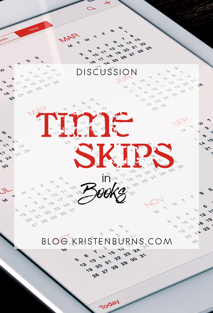 Discussion: Time Skips in Books | books, reading, discussions